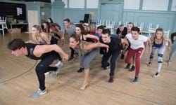 Rehearsals for Dirty Dancing Live on Stage 1. Photo Alistair Muir.jpg