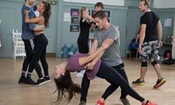 Rehearsals for Dirty Dancing Live on Stage 2. Photo Alistair Muir.jpg