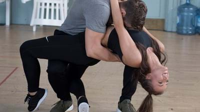 Rehearsals for Dirty Dancing Live on Stage 6. Photo Alistair Muir.jpg