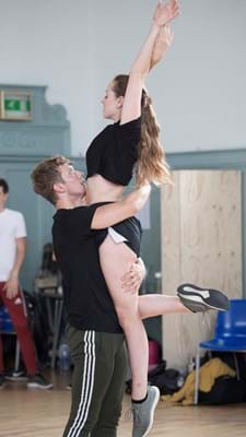 Rehearsals for Dirty Dancing Live on Stage 10. Photo Alistair Muir.jpg